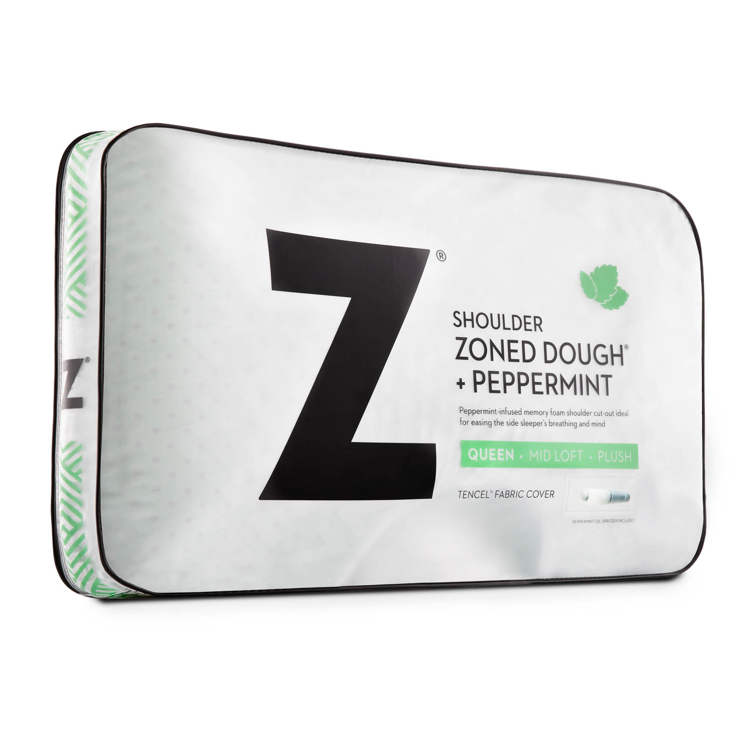 Almohada Z Shoulder Cutout Zoned Peppermint
