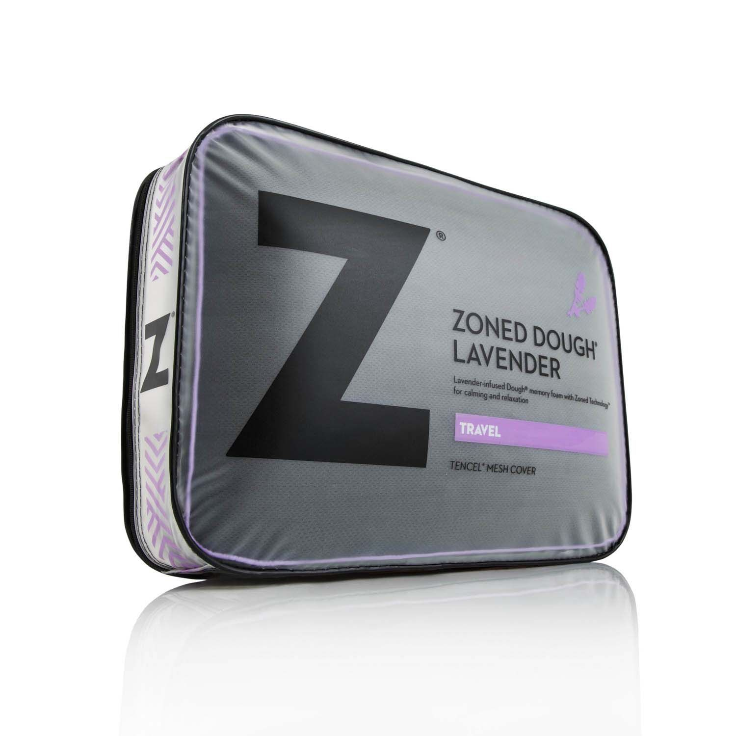 Almohada Z Zoned Lavender Travel